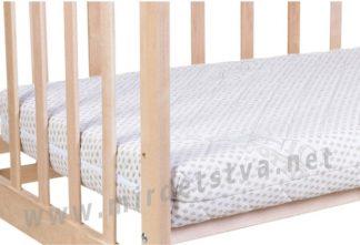 Матрас для малыша Солодких снiв Organic Cotton Comfort Premium 12см