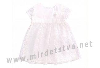 Нарядное платье Бемби ПЛ255 крестильное
