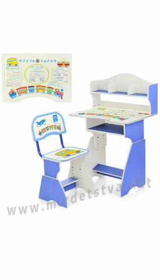 Парта и стул для школьника Bambi HB-2070(2)-01-7