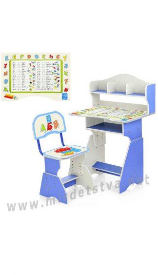Парта и стул для занятий Bambi HB-2070(2)-03-7
