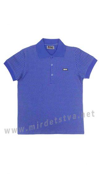 Подростковая футболка поло Cegisa 9761 синяя