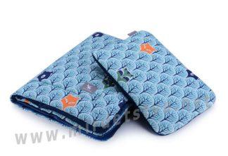Подушка и плед для новорожденного Cottonmoose Cotton Velvet 408/86/145
