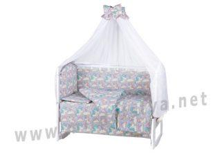 Постельный комплект Comfort 08 unicorn для малышей