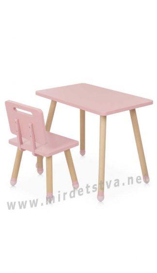 Розовый комплект мебели Bambi M 4256 Square Pink