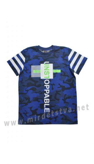 Синяя летняя футболка Cegisa 9598