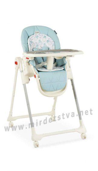 Столик для кормления EL CAMINO ME 1037 Crystal Milk Sky Blue