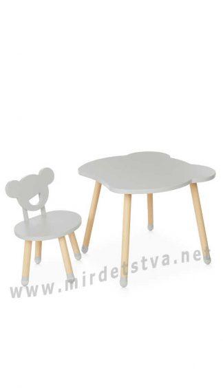 Столик и стульчик Bambi M 4255 Bear Gray