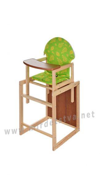 Стульчик деревянный для кормления Vivast M V-002-29