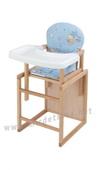 Стульчик для кормления малыша Пони-230 еко без лака