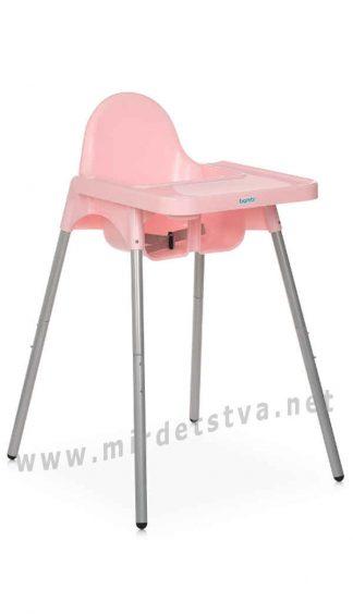 Стульчик для кормления розовым цветом Bambi M 4209 Pink