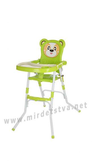 Стульчик для кормления зеленым цветом Bambi 113-5