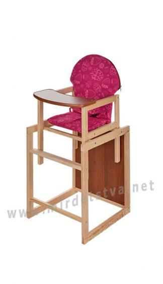 Стульчик и столик 2 в 1 для малыша Vivast M V-002-26