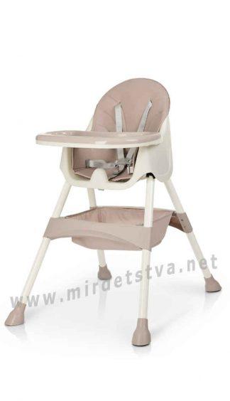 Удобный стульчик для кормления Bambi M 4136 Pink
