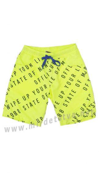 Яркие пляжные шорты мальчикам Cegisa 9358 (9359 9360) неон