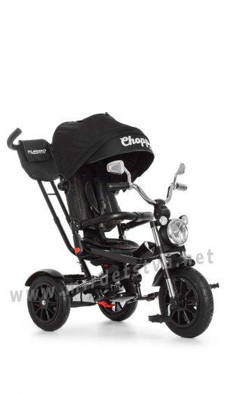 Черный велосипед Turbo Trike M 4056-20 трехколесный