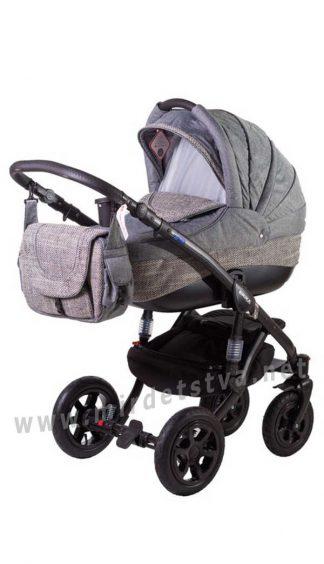 Детская коляска прогулочная 2в1 Adamex Erika Eco 603K
