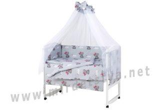 Детская постель для девочек Qvatro Gold RG-08 it`s a girl