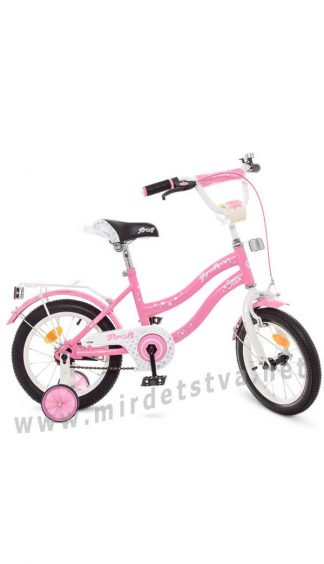 Детский двухколесный велосипед 14 дюймов Profi Y1491