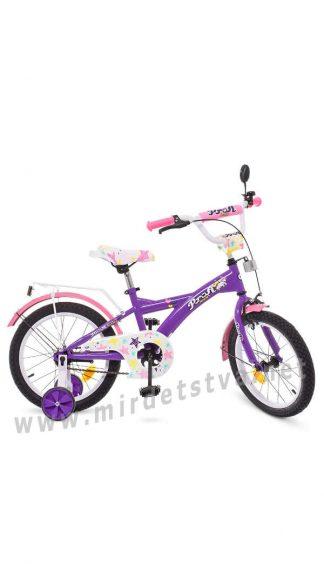 Детский велосипед для девочки Profi T1863 18 дюймов