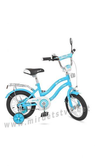 Двухколесный велосипед Profi 14д. L1494 голубой