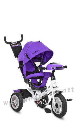 Фиолетовый велосипед Turbo Trike M 3115-8HA детский