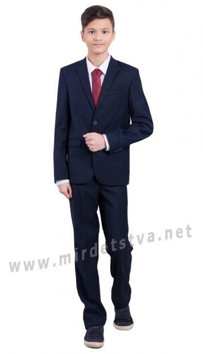 Классические синие брюки для мальчика Новая форма Mark 70/1