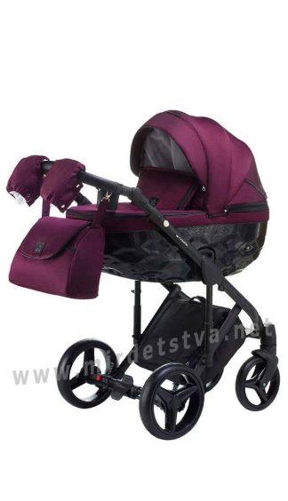 Коляска 2в1 Adamex Chantal BC10 для новорожденного