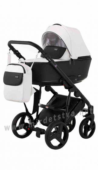 Коляска детская прогулочная Bair Mirello M-300 кожа
