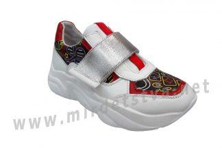 Кожаные кроссовки для девочки Bistfor 07104/919/564 (05104/919/564)