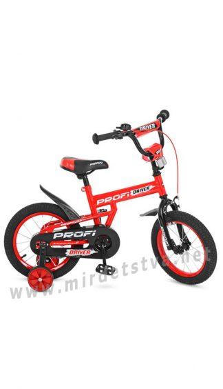 Красный велосипед Profi 14д. L14112 двухколесный
