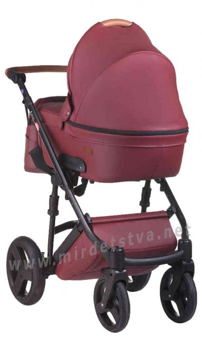 Легкая прогулочная коляска Bair Leo 2в1 GN-70 кожа