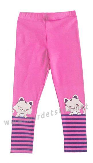 Лосины для девочки Lovetti 5890 розового цвета