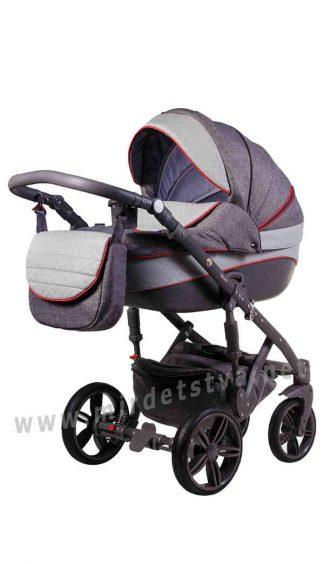 Прогулочная коляска Adamex Prince X-1 для новорожденных
