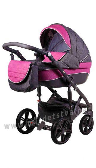 Прогулочная коляска для новорожденного Adamex Prince X-15-A