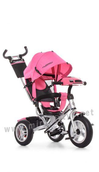 Розовый велосипед Turbo Trike M 3115HA-10R