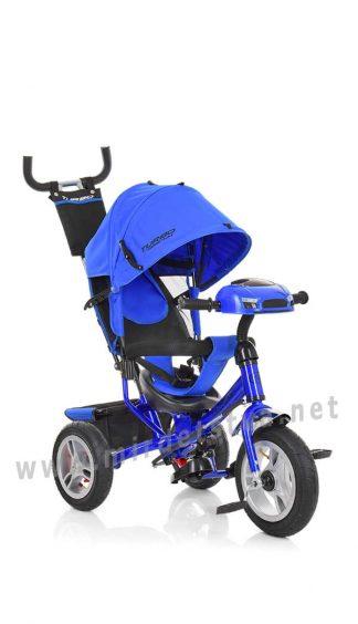 Синий велосипед Turbo Trike M 3115HA-14 трехколесный