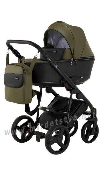 Стильная прогулочная коляска Bair Mirello 2в1 кожа М-35