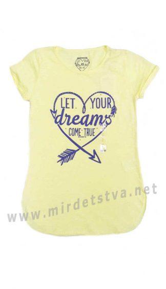 Трикотажная футболка Divonette 8057 для девочки