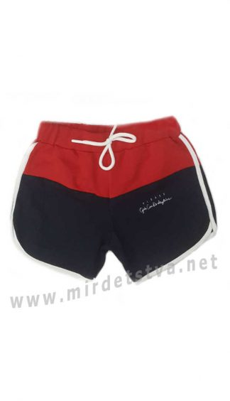 Трикотажные шорты для девочки Dominik K-20-4501