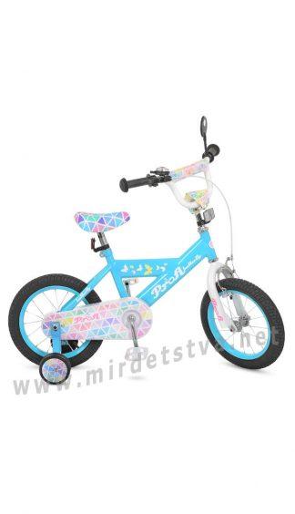 Велосипед Profi 16д. L16133 с дополнительными колесами