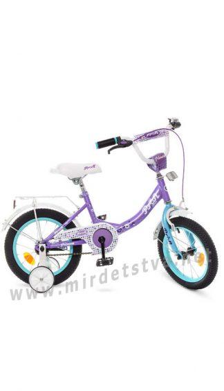 Велосипед детский двухколесный 14 дюймов Profi Y1415