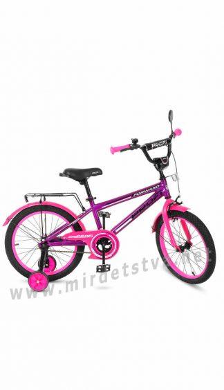 Велосипед для девочки 18 дюймов Profi T1877