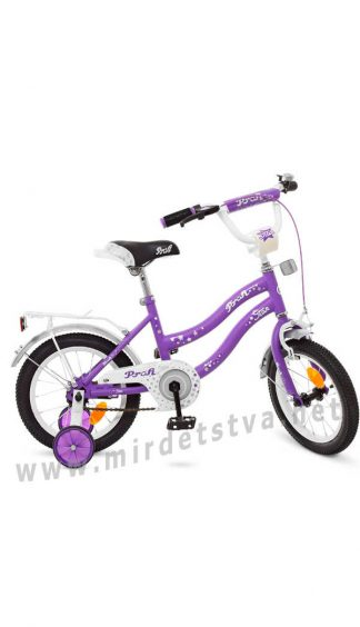 Велосипед для девочки Profi 14 дюймов Y1493 двухколесный