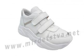 Белые кроссовки на высокой платформе Bistfor 05400/919/14 (07400/919/14)
