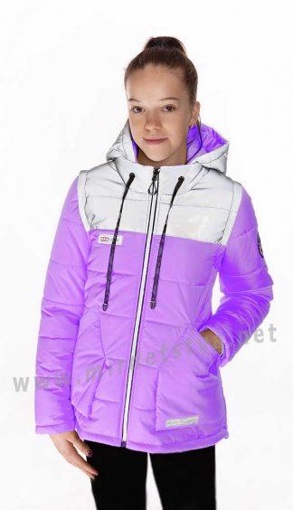 Демисезонная куртка жилетка Nestta Nikol для девочки