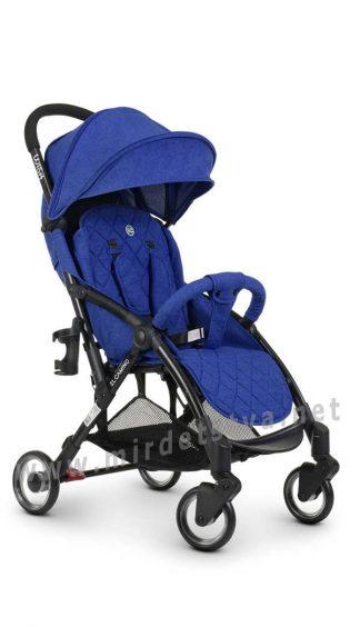 Детская прогулочная коляска EL CAMINO ME 1058 Wish indigo