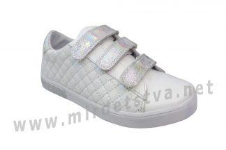 Детские кожаные кроссовки Bistfor 09162/85/890 (07162/85/890)
