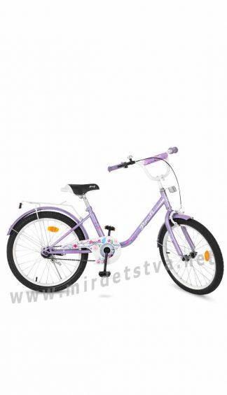 Детский велосипед девочке 20 дюймов Profi Y2083