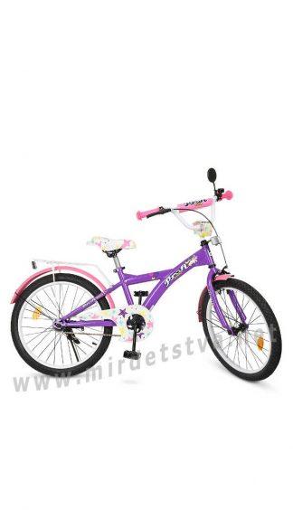 Детский велосипед для девочки 20 дюймов Profi T2063