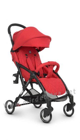 Коляска-книжка прогулочная для малыша EL CAMINO ME 1058 Wish red